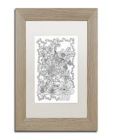 """Kathy G. Ahrens Butterflies Matted Framed Art - 35"""" x 35"""" x 2"""""""