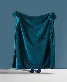 Shaggy Chic Fuzzy Faux Fur Throw Blanket - 50 x 60