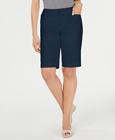Charter Club Twill Bermuda Shorts, Created for Macy's