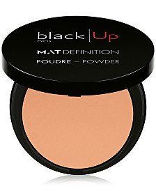 black Up Matte Definition Universal Powder