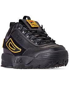 Fila Women's Disruptor II Patches Casual Athletic Sneakers from Finish Line