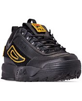 Fila Women s Disruptor II Patches Casual Athletic Sneakers from Finish Line 52cbfb2b6b8