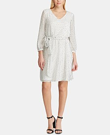 American Living Polka-Dot Dress