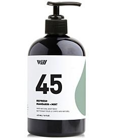 45 Refresh Natural Body Wash, 16-oz.