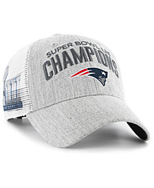 '47 Brand New England Patriots Super Bowl LIII Champ Heather MVP Adjustable Cap