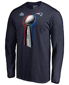Majestic Men's New England Patriots Champ Parade Celebration Long Sleeve T-Shirt
