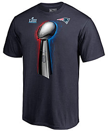 Majestic Men's New England Patriots Champ Parade Celebration T-Shirt