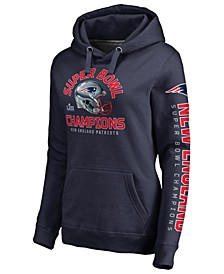 Women's New England Patriots Super Bowl LIII Champ Two Minute Drill Hoodie