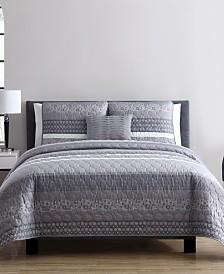 Casper 4 Piece 4 Piece Queen Comforter Set