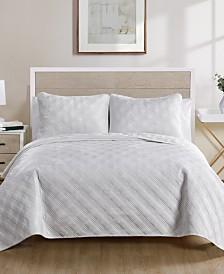 Diana 2 Piece Twin XL Quilt Set