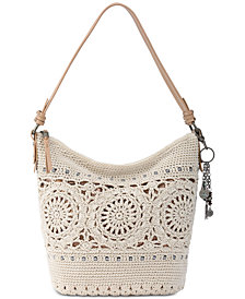 The Sak Sequoia Crochet Hobo