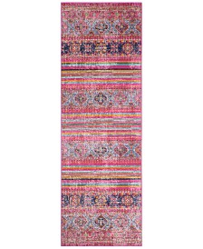 "BB Rugs Alexa ALX-41 2'6"" x 8' Runner Area Rug"