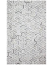 Cowhide HID-26 Grey 8' x 10' Area Rug