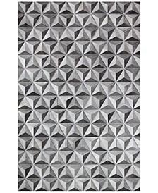 Cowhide HID-31 Grey 8' x 10' Area Rug
