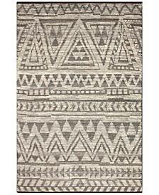 "BB Rugs Natural Wool NAT-21 Gray 7'6"" x 9'6"" Area Rug"