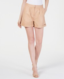 Rachel Zoe Elisa Leather Shorts