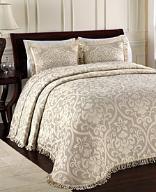 All Over Brocade King Bedspread