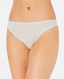 Supima Cotton Thong Underwear, Created for Macy's