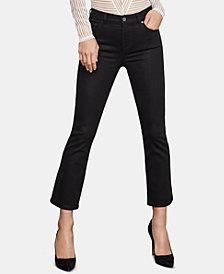 BCBGMAXAZRIA Metallic Coated Jeans