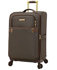 """London Fog Oxford II 25"""" Softside Spinner Suitcase, Created for Macy's"""
