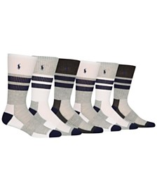 Polo Ralph Lauren 6-Pk. Athletic Crew Socks