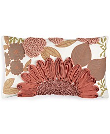 "CLOSEOUT!  Lacourte Zahara Cotton 24"" x 14"" Decorative Pillow"