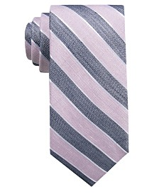 Ryan Seacrest Distinction™ Men's Seville Seasonal Stripe Slim Tie, Created for Macy's