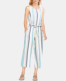 Vince Camuto Striped Sleeveless Jumpsuit