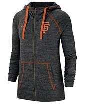 fe3d8ffe0a5f Nike Women s San Francisco Giants Gym Vintage Full-Zip Hooded Sweatshirt