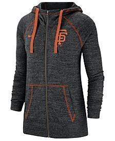 Nike Women's San Francisco Giants Gym Vintage Full-Zip Hooded Sweatshirt