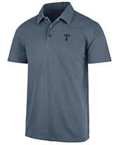 98b440f53e29 '47 Brand Men's Texas Rangers Hudson Polo · '