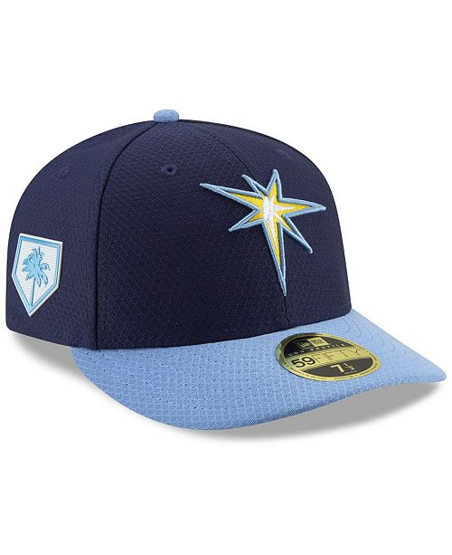 ec3da8878 ... New Era Tampa Bay Rays Spring Training 59FIFTY-FITTED Low Profile Cap  ...