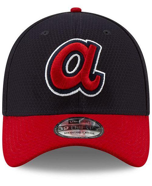 7dc9e5f6461 New Era Atlanta Braves Batting Practice 39THIRTY Cap - Sports Fan Shop By  Lids - Men - Macy s
