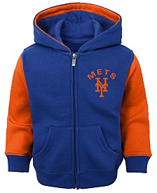 Outerstuff Baby New York Mets Fielder Full-Zip Hoodie
