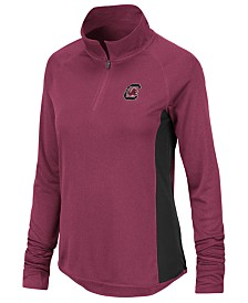 Colosseum Women's South Carolina Gamecocks Albi Quarter-Zip Pullover