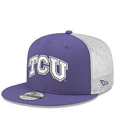New Era TCU Horned Frogs TC Meshback Snapback Cap