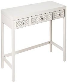 "Amanda 48"" 3 Drawer Desk"