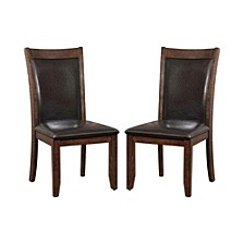 Transitional Style Side Chair - Set Of 2