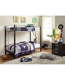 Mirella Twin Over Twin Bunk Bed
