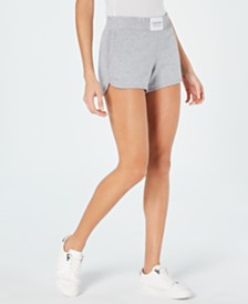 Calvin Klein Performance Smocked-Waistband Shorts
