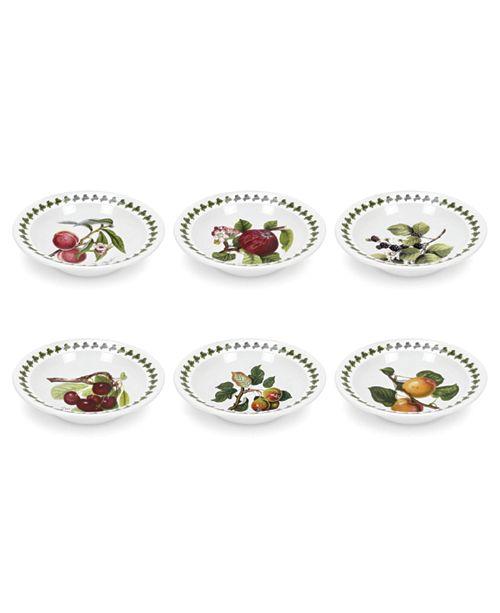 Portmeirion Pomona Cereal/Soup Bowl Assorted Set/6