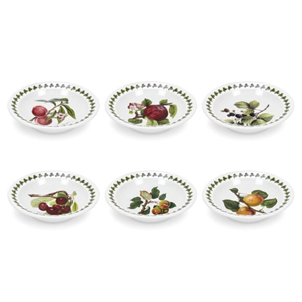 Portmeirion Pomona Cereal/Soup Bowl Assorted Set/6