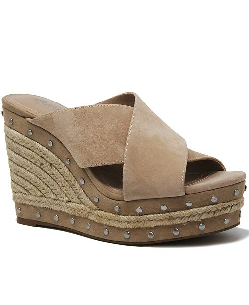 CHARLES by Charles David Leilani Wedge Sandals