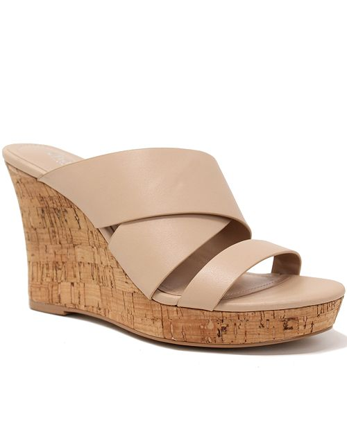 68d8760a76a Leslie Wedge Sandals