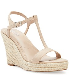CHARLES by Charles David Lili T-Strap Wedge Sandals