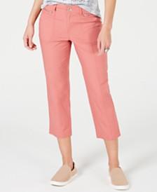 Style & Co Petite Cuffed Capri Pants, Created for Macy's