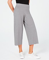 bc5ee596c3d8 Eileen Fisher Cropped Wide-Leg Pants