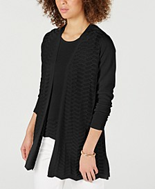 Textured Zigzag Cardigan, Created for Macy's