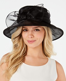 Josette Organza-Bow Sun Hat