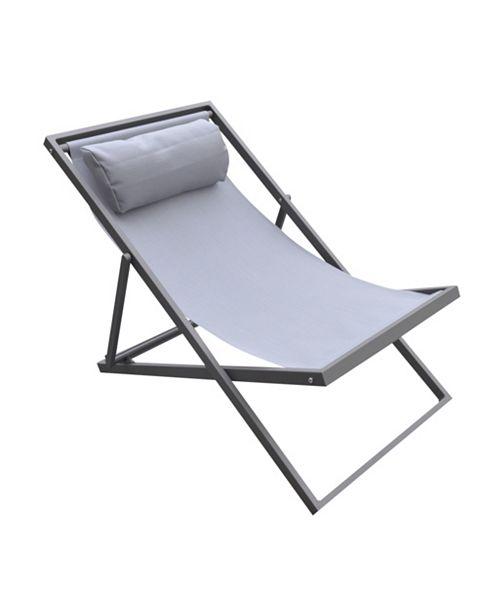 Armen Living Wave Outdoor Patio Chair